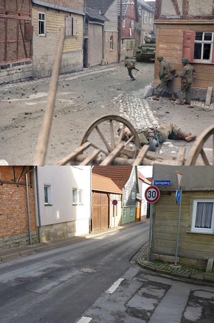 A mesma rua, há 71 anos