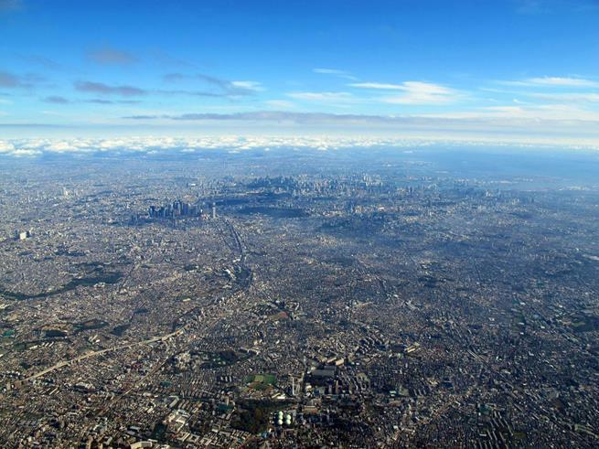 Tóquio é realmente muito grande