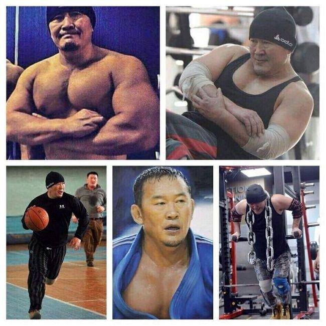 O novo presidente da Mongólia, Battulga Khaltmaa