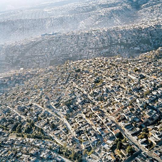 Cidade do México vista de um ângulo curioso