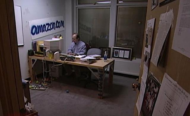 Jeff Bezos, fundador da Amazon, em 1999