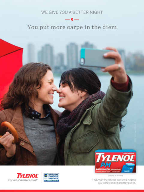 anúncio Tylenol