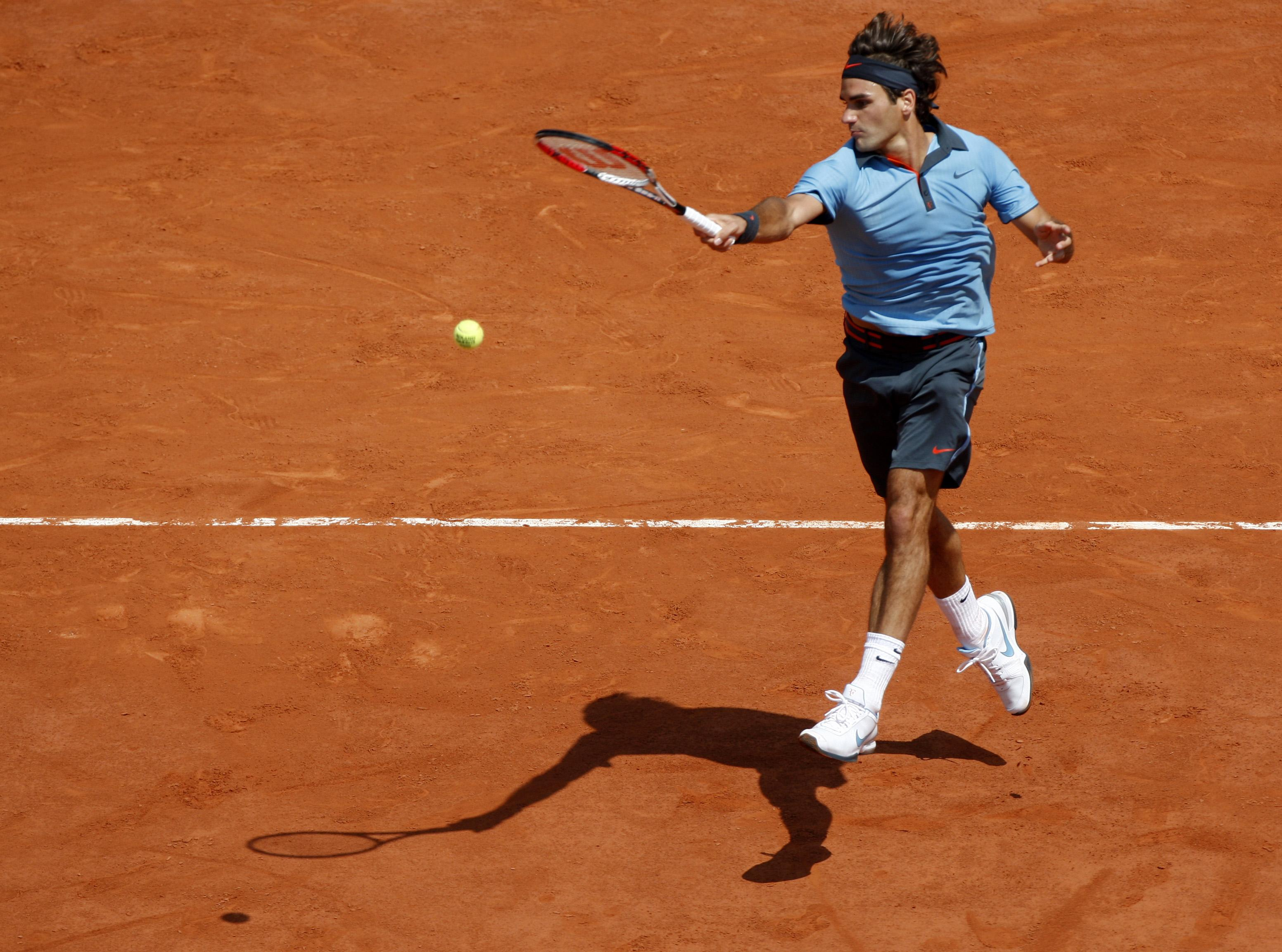 Federer against del Potro. Image courtesy: paulocleto
