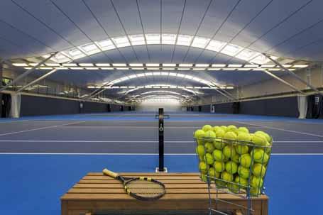 Treinamento dos fundamentos do Tênis de Quadra