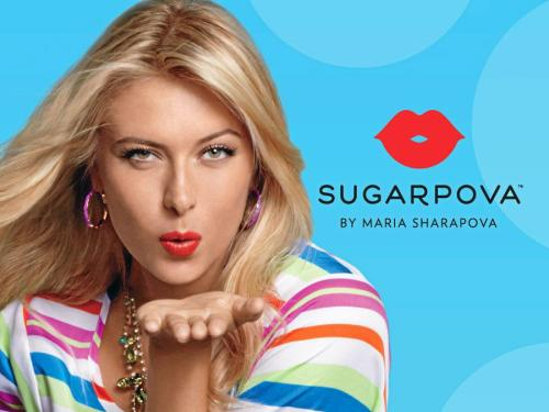 Maria Sharapova candy line called sugarpova