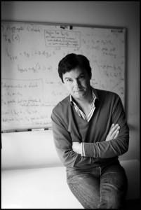 """O economista Thomas Piketty, autor de """"O capital no século 21"""". Foto: Divulgação"""