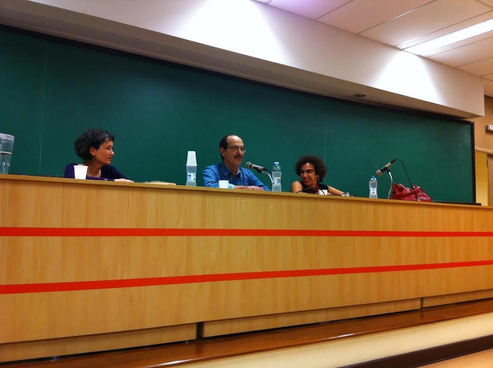 Paulo Arantes em debate na Faculdade de Filosofia, Letras e Ciências Humanas da USP