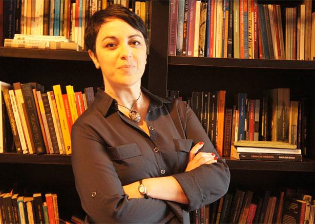 """A filósofa Marcia Tiburi, autora do livro """"Filosofia prática"""": """"A pronúncia da palavra 'ética' convoca a ser ético aquele que fala"""". Foto: Divulgação"""