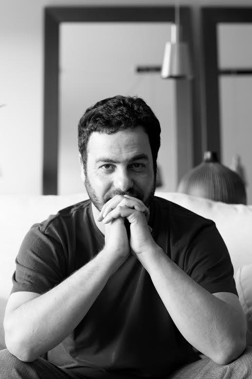 O escritor Flavio Cafiero