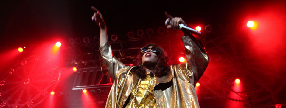 M.I.A. em show no Terminal 5 - foto Getty Images
