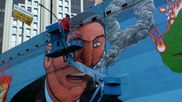 O grafiteiro Nunca