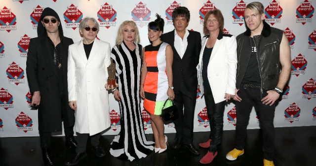 O Blondie com a Lily Allen no NME Awards - Getty Images