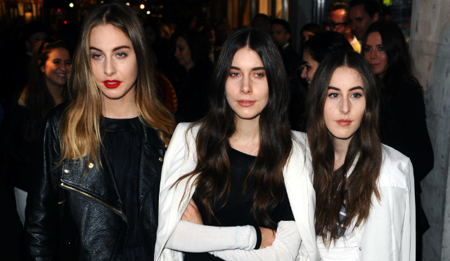 As irmãs Haim em Londres - Getty Images