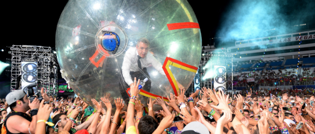 Diplo no Electric Daisy Carnival 2013 - Getty Images