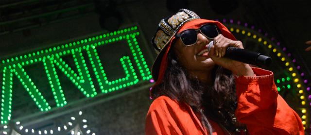 M.I.A. em show em 2013 - Getty Images