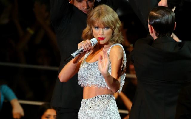 Taylor Swift no VMA 2014 - Mark Davis/Getty Images