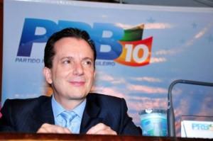 O apresentador e candidato a deputado federal, Celso Russomanno (PRB-SP). Foto: Divulgação