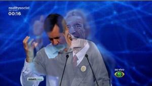 Montagem na rede compara Jorge a Plínio de Arruda Sampaio (Foto: Reprodução)