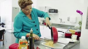 Dilma, no programa eleitoral que foi ao ar na terça-feira, 19 (Reprodução)