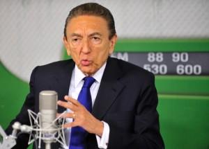 O ministro de Minas e Energia, Edison Lobão. Foto: Agência Brasil
