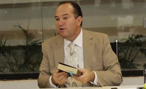 Pastor Everaldo, candidato do PSC à presidência. (Foto: Alan Sampaio / IG Brasília)