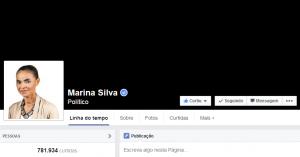 Marina Silva (PSB), em luto pela morte do presidenciável Eduardo Campos (PSB). (Foto: Reprodução)