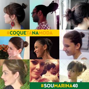 Marina Silva incentiva apoiadores a enviarem fotos com o mesmo penteado. Foto: Reprodução/ Facebook