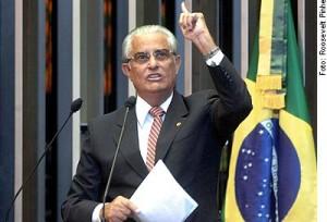 O ex-governador Joaquim Roriz (PRTB-DF). Foto: Roosevelt Pinhe / Agência Senado