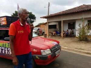 Deputado federal e candidato à reeleição em campanha, Domingos Dutra (SDD-BA). Foto: Divulgação
