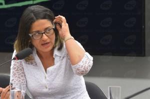 Ex-contadora de Alberto Youssef, Meire Poza. (Foto: Agência Brasil)