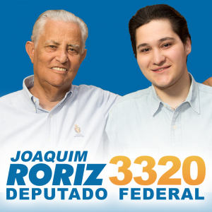 Folder de campanha de Joaquim Roriz Neto (PMN-DF). Divulgação