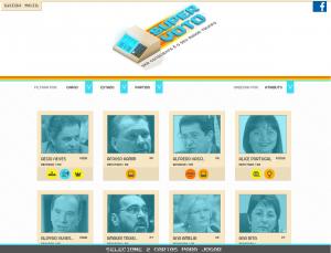 """Site """"Super Voto"""" é inspirado no jogo Super Trunfo. (Foto: Reprodução)"""