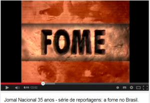 Reportagem do Jornal Nacional de 2002 é usada por campanha de Dilma Rousseff. (Foto: Reprodução/ Youtube)