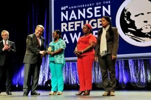 Rede Borboletas recebe Prêmio Nansen, conhecido como Nobel Humanitário da ONU. (Foto: Acnur)