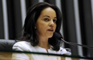 A deputada federal Rosane Ferreira (PV-PR). Foto: Agência Câmara