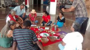 MST em greve de fome na Assembleia Legislativa de Goiás. (Foto: Divulgação)
