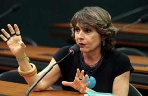 Deputada federal Érika Kokay (PT-DF). Foto: Divulgação