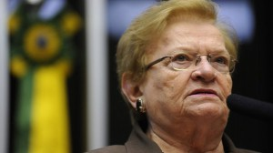 A deputada federal Luiza Erundina (PSB-SP). Foto: Agência Câmara