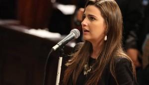 A deputada federal eleita, Clarissa Garotinho (PR-RJ). Foto: Divulgação