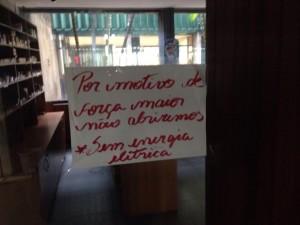 Restaurante no Anexo III da Câmara dos Deputados.