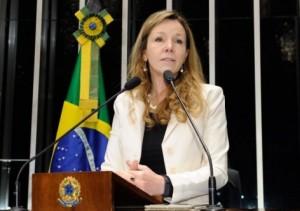 A senadora Vanessa Grazziotin (PCdoB-AM). Foto: Agência Senado
