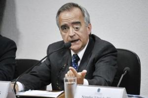 O ex-diretor da Petrobras, Nestor Cerveró. Foto: Geraldo Magela / Agência Senado