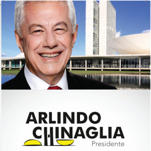 Panfleto da campanha de Arlindo Chinaglia (PT-SP) à presidência da Câmara. Foto: Reprodução