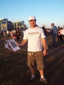 O presidente do diretório distrital do Partido Novo, Cláudio Cavalcanti Barra. Foto: Reprodução