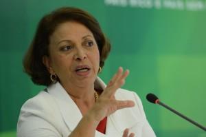 A ministra de Direitos Humanos, Ideli Salvatti. (Foto: Fabio Rodrigues Pozzebom /Agência Brasil)