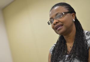 A ministra da Igualdade Racial, Nilma Lino Gomes. (Foto: Agência Brasil)