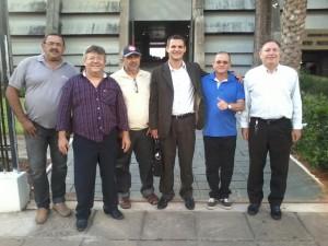 Idealizadores do Partido do Combate ao Desemprego. Foto: Reprodução