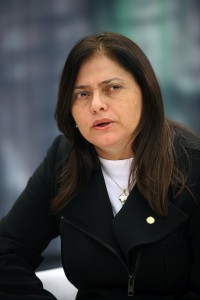 A deputada federal Alice Portugal (PCdoB-BA). Foto: Agência Brasil