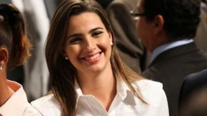 A deputada federal Clarissa Garotinho (PR-RJ). Foto: Divulgação