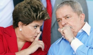 Dilma e Lula: ex-presidente pediu giro da presidente pelo país (Foto: Agência Brasil)